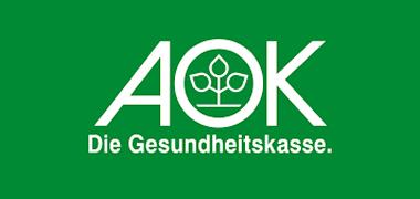 Logo AOK - Die Gesundheitskasse