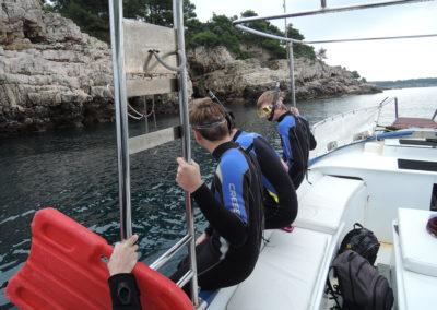 Mehrtägige Exkursion zur Meeresschule in Pula