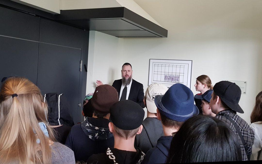Besuch in der Krefelder Synagoge