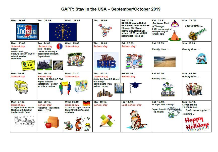 Aufregung und Vorfreude: Achter GAPP-Austausch
