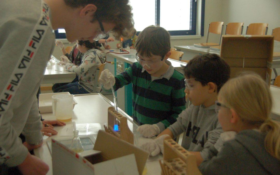 Junior Lab 20: Forschen wie die Großen