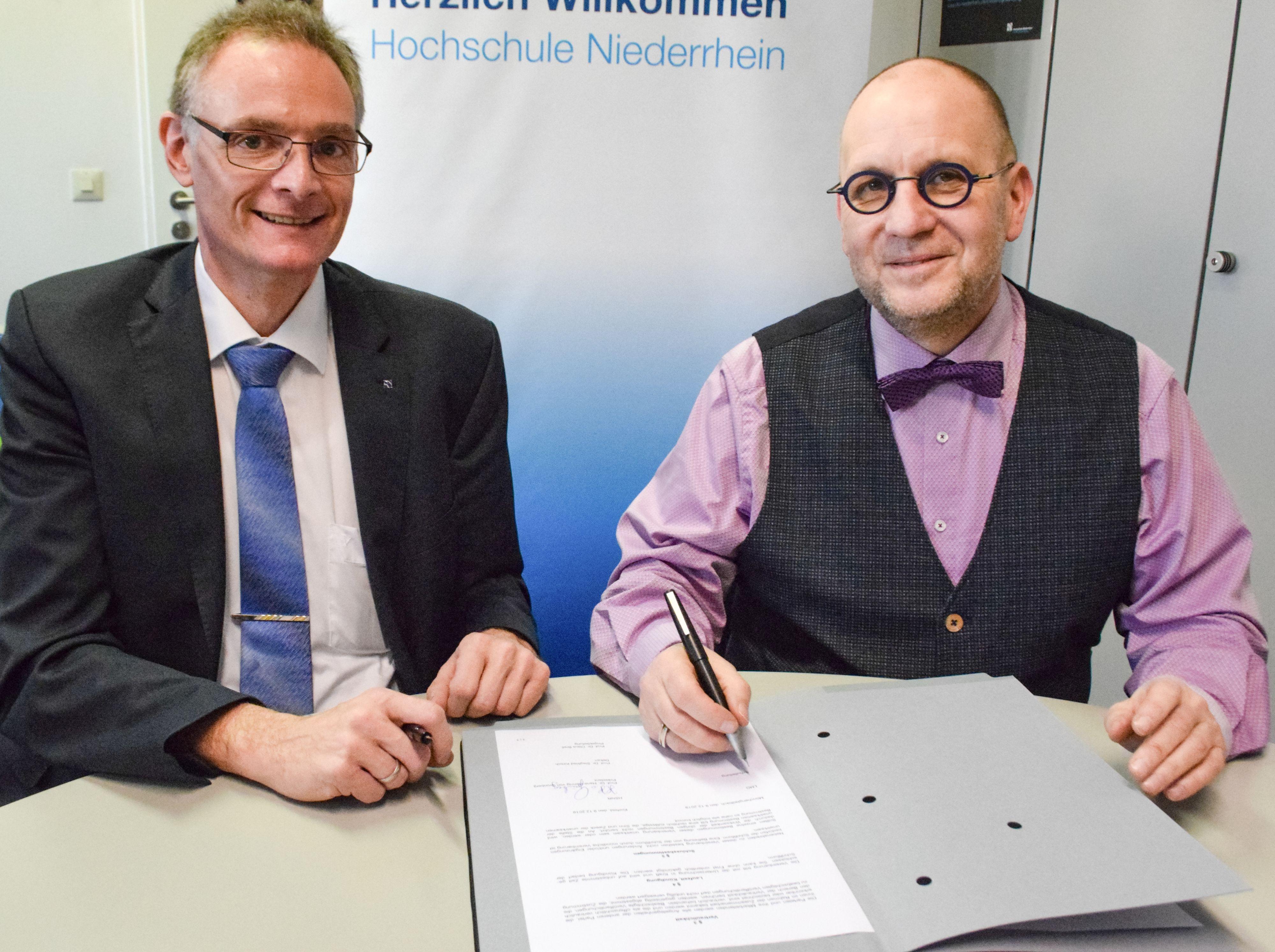 Kooperation mit der Hochschule Niederrhein