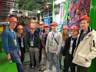 Den Teilchen auf der Spur … unsere Physiker im CERN