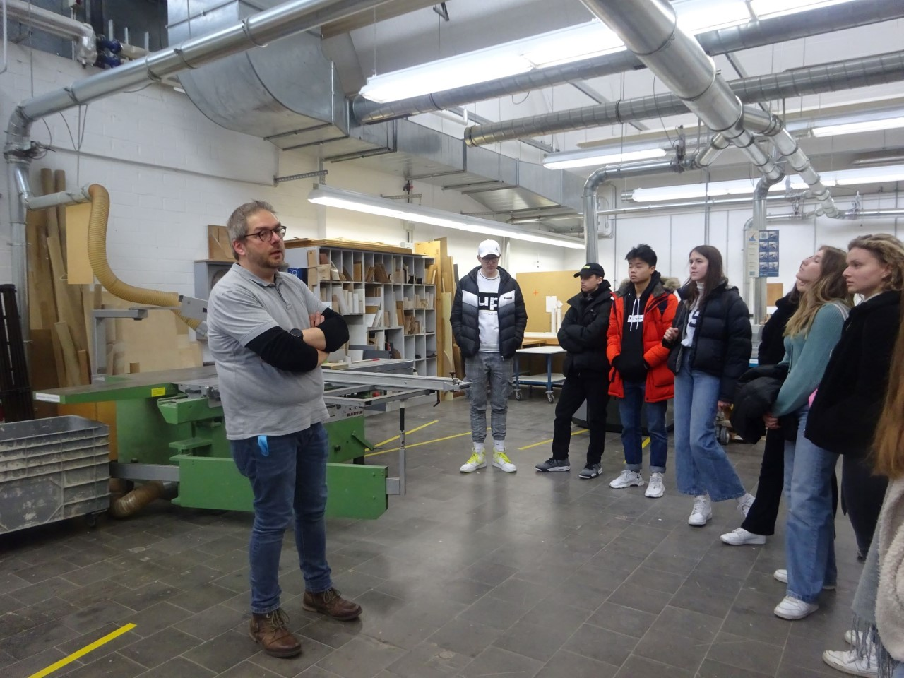 Design für Morgen – Besuch der Fachhochschule Niederrhein